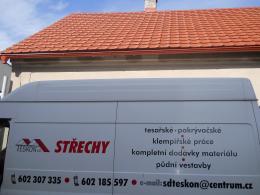 Rekonstrukce krytiny Pardubice